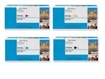 HP C9731-3  cyan/magenta/yellow  FOR COLOR 5500/5550