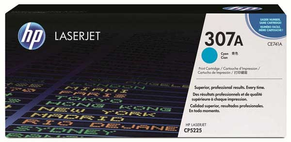CE741A CYAN Print Cartridge (73000 Yield) HP 5225