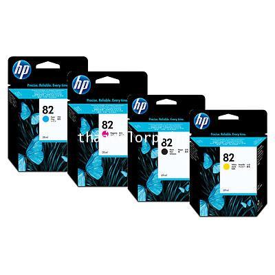 HP INK NO.82  K/C/M/Y  HP INK  (CH565A4A) 82  BLACK   69 ML