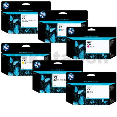 HP INK NO.72 FOR HP design T610,T1100,T1200T770T790T792