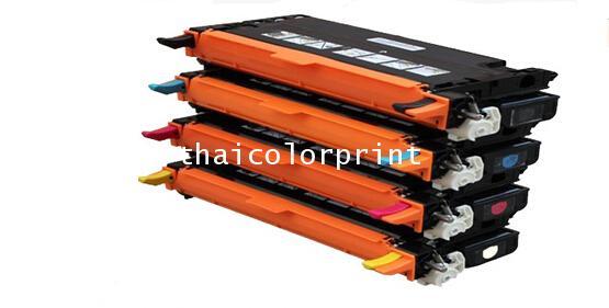 หมึกพิมพ์ พร้อมใช้  XEROX-C2200  สี  C M Y  4K