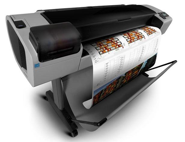 พล๊อตเตอร์ มือสอง Designjet T1300 44\'\' ติดแท็งค์ได้ หมึกลิตรละ 950 บาท มือสอง