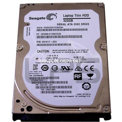DesignJet Z5400 HDD