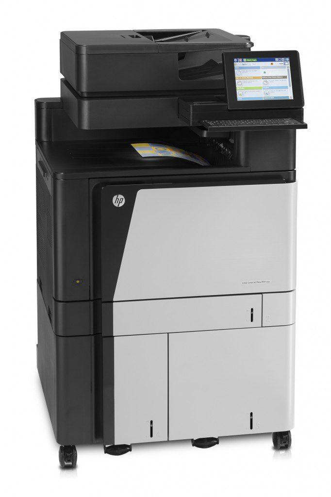 HP Color LaserJet Enterprise flow MFP M880z  A3 สี MULTIFUNTION SCAN 70 แผ่น/นาที