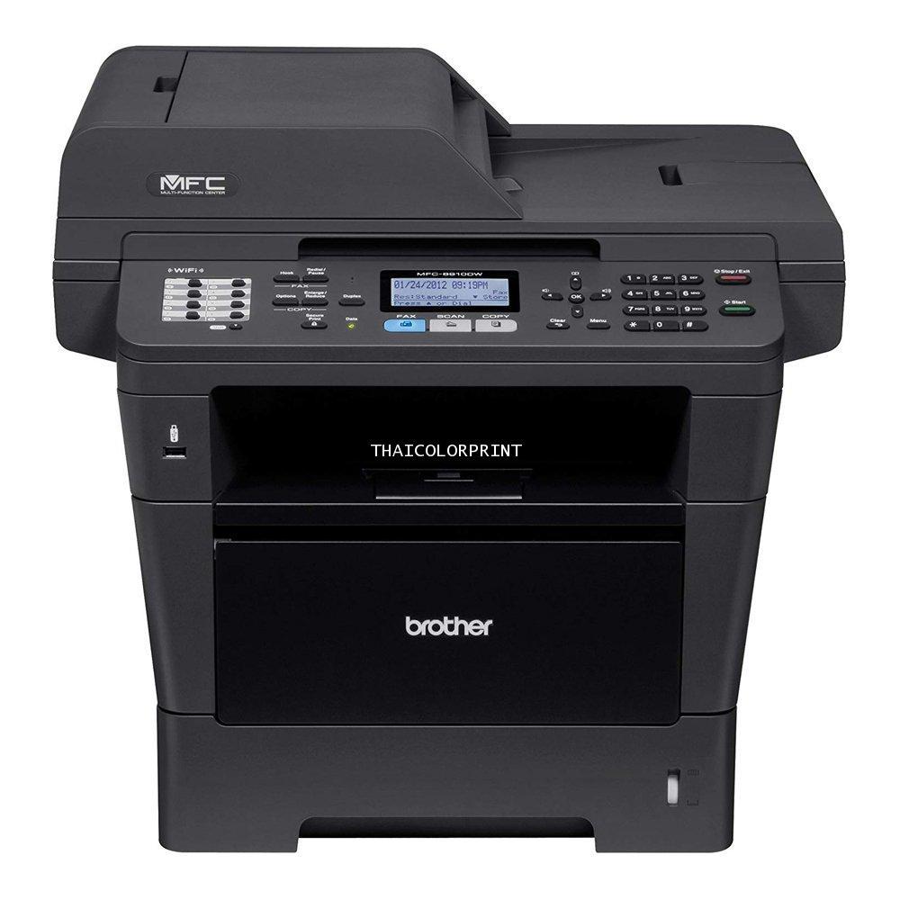 Brother MFC-8910DW  Wireless Network Multifunction Printer  ความเร็วพิมพ์ขาวดำ : 40แผ่นต่อนาที
