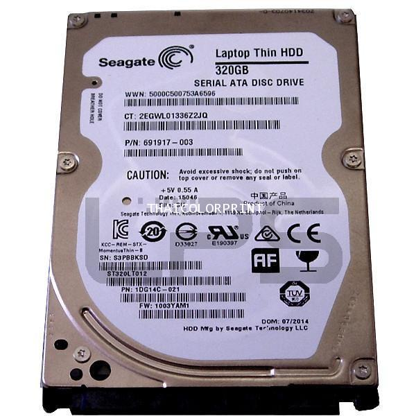 HDD with FW T920/1500/2500