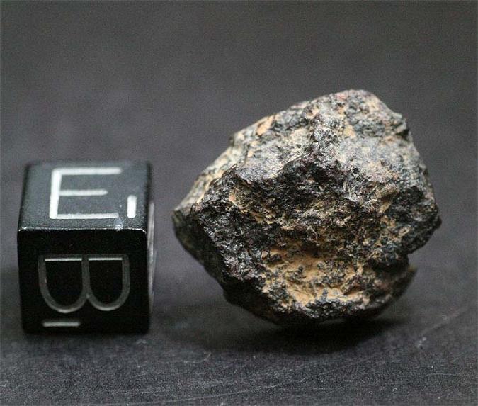 Meteorite NWA 4722, Rare Chondrite LL3, Half, (3.5 grams)