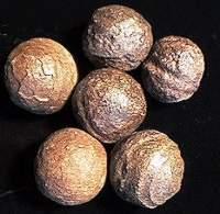 หิน Moqui (Moki) หรือ Shaman Stones (Earth Has 'Blueberries' Like Mars)