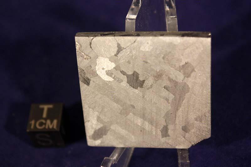 Nantan meteorite 48.3 gram etched part slice