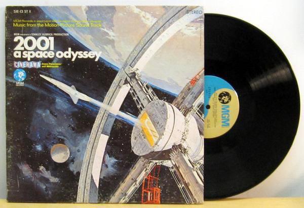 2001 A SPACE ODYSSEY Original Movie Soundtrack แผ่นเสียง LP
