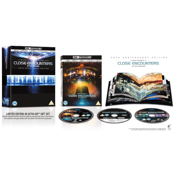 Close Encounters of the Third Kind (40th Anniversary) Blu-ray and 4K UltraHD