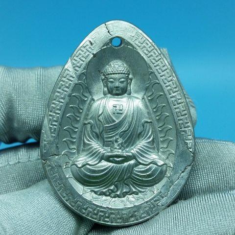 จี้อุกกาบาต แกะสลักพระพุทธเจ้า (25.2 กรัม)