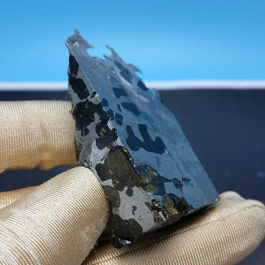 Stony Iron Meteorite - Pallasite (51 g.) 2