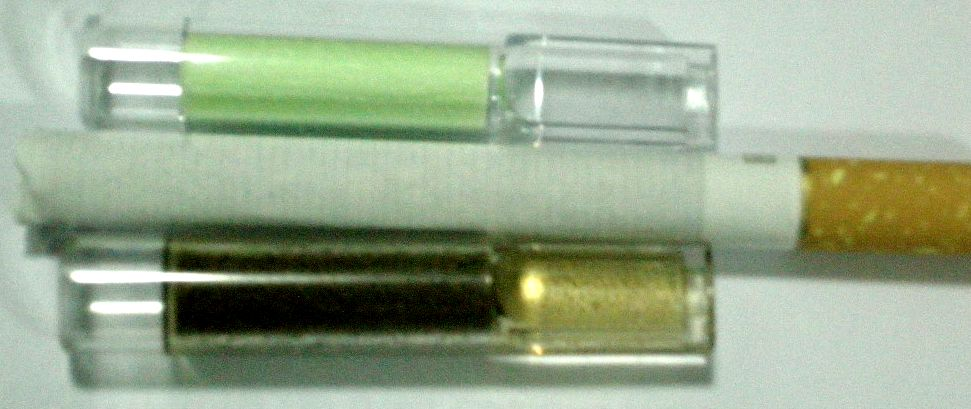 ที่กรองบุหรี่ Herb มีไส้ฟองน้ำในตัว แบบใช้แล้วทิ้ง ( ชาเขียว ) 5