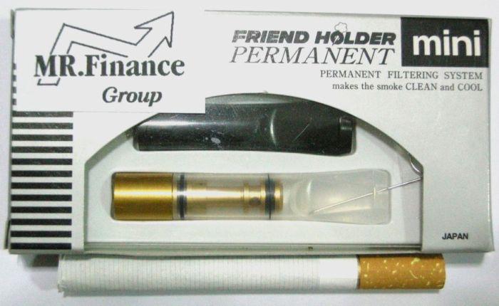 ที่กรองบุหรี Friend Holder ( Permanent ) แบบถอดเช็ดได้ ไม่ต้องเปลี่ยนไส้กรอง (MINI)