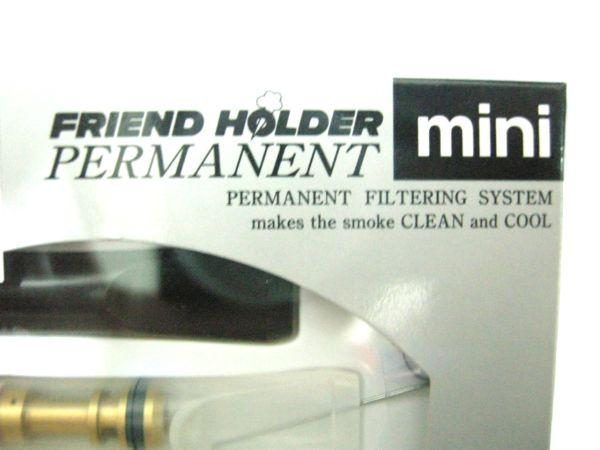 ที่กรองบุหรี Friend Holder ( Permanent ) แบบถอดเช็ดได้ ไม่ต้องเปลี่ยนไส้กรอง (MINI) 4