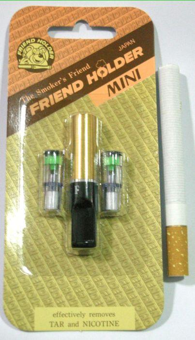 ที่กรองบุหรี่ Friend Holder แบบดีดไม่ได้ ( สีทอง ) แพ็คเล็ก