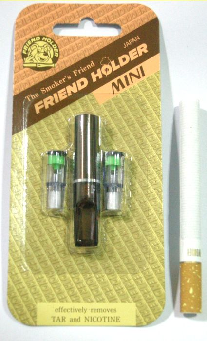 ที่กรองบุหรี่ Friend Holder แบบดีดไม่ได้ ( สีน้ำตาล ) แพ็คเล็ก