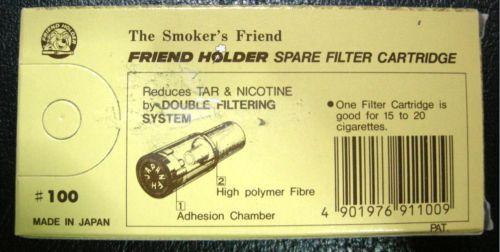 ไส้กรองบุหรี่แบบใช้แล้วทิ้ง สำหรับที่กรองของ Friend Holder ทุกรุ่น 4
