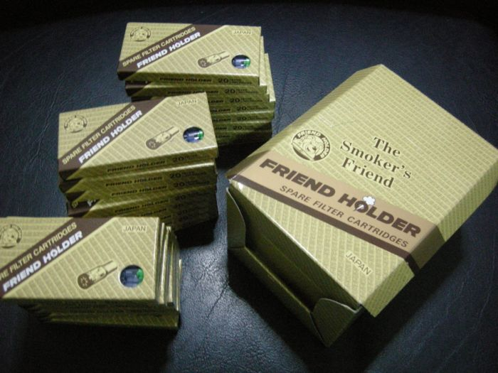 ไส้กรองบุหรี่แบบใช้แล้วทิ้ง สำหรับที่กรองของ Friend Holder ทุกรุ่น 6