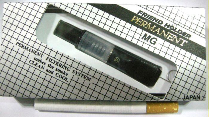 ที่กรองบุหรี Friend Holder ( Permanent ) ระบบแม่เหล็ก ถอดเช็ดได้ ไม่ต้องเปลี่ยนไส้กรอง (สีดำ)