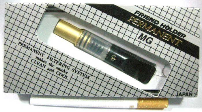 ที่กรองบุหรี Friend Holder ( Permanent ) ระบบแม่เหล็ก ถอดเช็ดได้ ไม่ต้องเปลี่ยนไส้กรอง (สีทอง)
