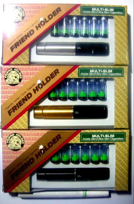 ที่กรองบุหรี่สลิม  Friend Holder ใช้กับบุหรี่แบบสลิม มวนเล็ก ( สีเงิน  ) 1