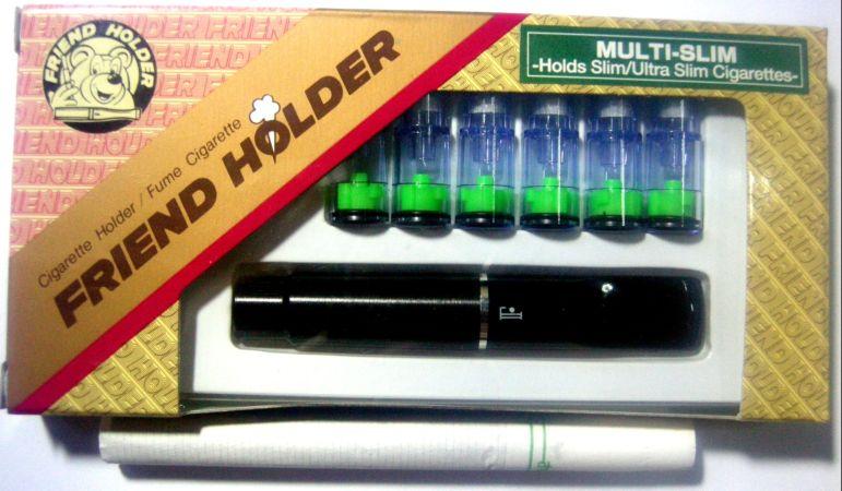 ที่กรองบุหรี่สลิม  Friend Holder ใช้กับบุหรี่แบบสลิม มวนเล็ก ( สีดำ  )