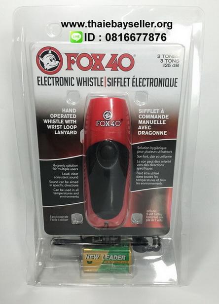นกหวีดไฟฟ้า Electronic Whistle Fox40 100dB  ของแท้ ของใหม่