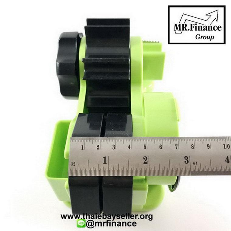 แท่นตัดเทปใสกึ่งอัตโนมัติ Tape Dispenser (สีเขียว) Green 4