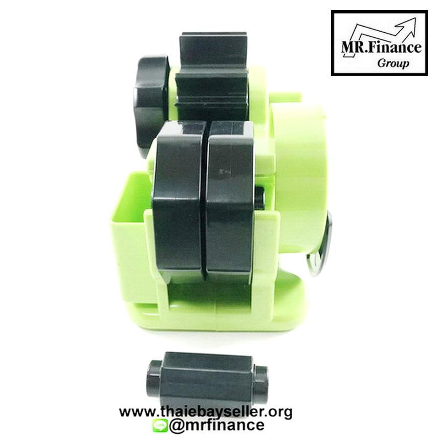 แท่นตัดเทปใสกึ่งอัตโนมัติ Tape Dispenser (สีเขียว) Green 7