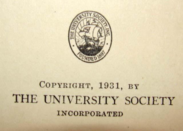 1931 FOSSILS Book PALEONTOLOGY University Society 2