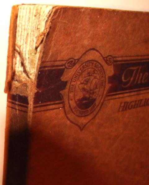 1931 FOSSILS Book PALEONTOLOGY University Society 8