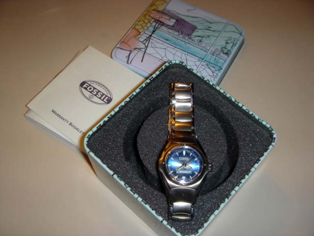 FOSSIL WATCH -(Michelin) BRAND NEW IN TIN !~Excellent 2