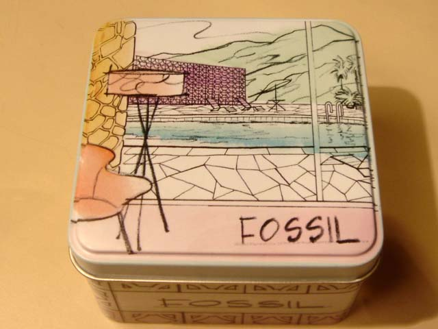 FOSSIL WATCH -(Michelin) BRAND NEW IN TIN !~Excellent 4