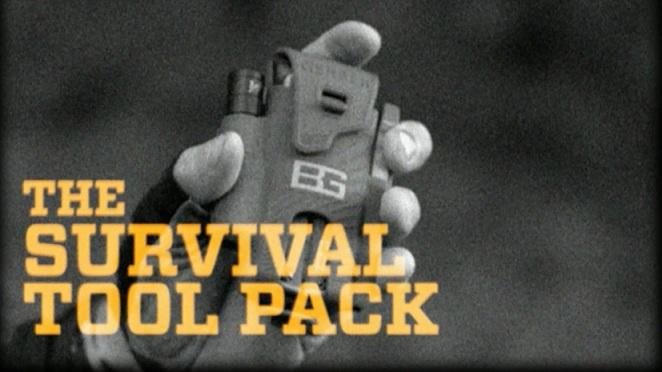ชุดเครื่องมืออุปกรณ์เอาตัวรอดฉุกเฉิน Gerber Bear Grylls Survival Tool Pack