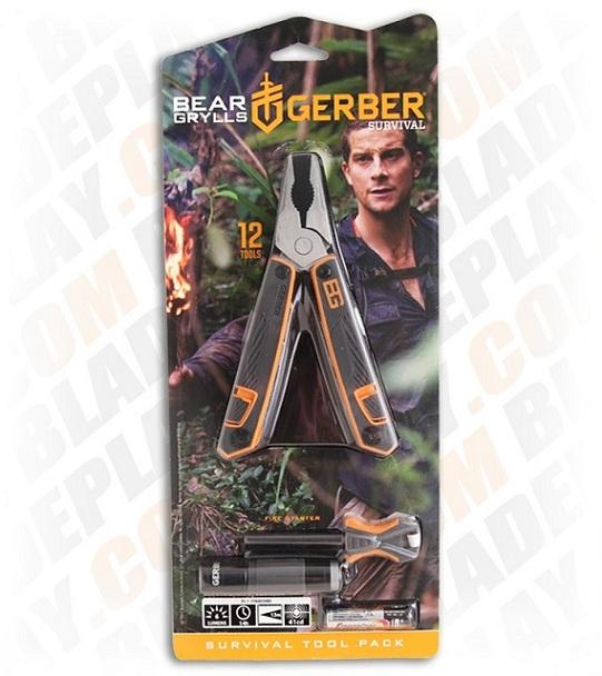 ชุดเครื่องมืออุปกรณ์เอาตัวรอดฉุกเฉิน Gerber Bear Grylls Survival Tool Pack 4
