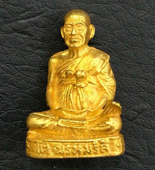 รูปหล่อสมเด็จพระพุฒาจารย์โต รุ่น 122 ปี พ.ศ.2537 เนื้อทองคำ พิธีใหญ่ นิยมมาก พร้อมกล่องเดิมจากวัด