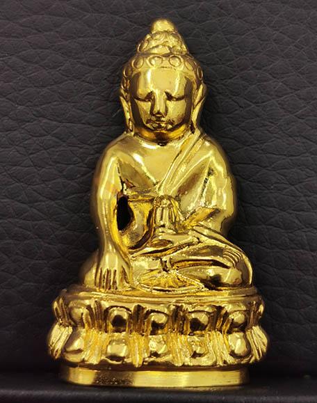พระกริ่งปวเรศ รุ่นหอพระประวัติสมเด็จสังฆราช เนื้อทองคำ 40.5กรัม ปี 2554 พิธีใหญ่ สร้างน้อยพร้อมกล่อง