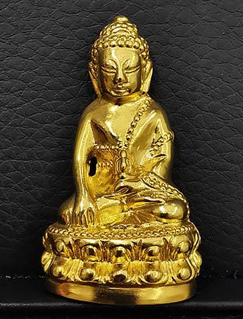พระกริ่งญาณรังษี วัดบวรนิเวศ เนื้อทองคำ หนัก 53 กรัม จัดสร้างปี 2544 No.93 พิธีใหญ่ สวยพร้อมกล่อง