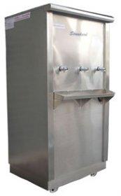 ตู้น้ำเย็นสแตนเลส 3 ก๊อก แบบต่อท่อ