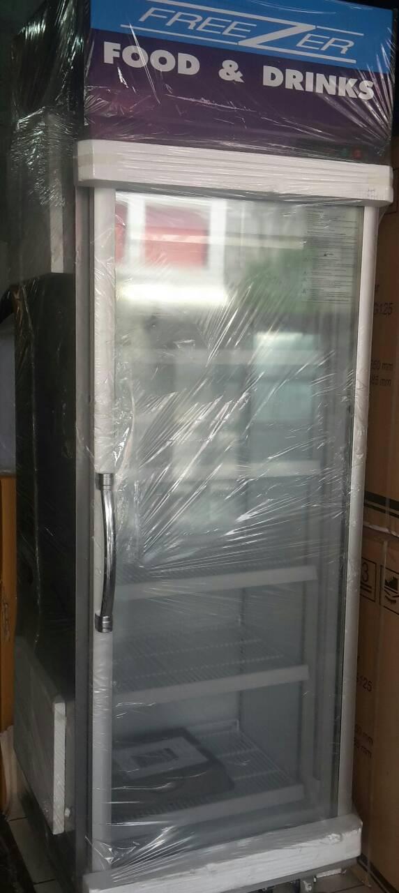 ตู้มินิมาร์สแตนเลส 1 ประตู  (เบียร์วุ้น)