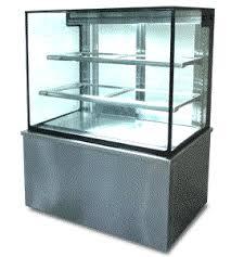 ตู้โชว์เค้กกระจกตรง70cm