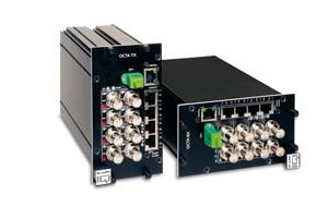 OCTA 4000 series, รับ-ส่ง สัญญาณภาพ 8 ช่อง/PTZ/CC