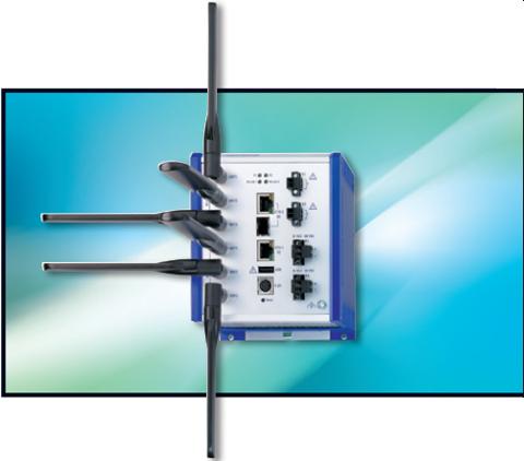 Hirschmann Open BAT series, Wireless LAN System