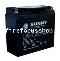 แบตเตอรี่แห้งชนิดตะกั่วกรดขนาด 12V-15AH ยี่ห้อ Sunny