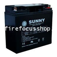 แบตเตอรี่แห้งชนิดตะกั่วกรดขนาด 12V-18AH ยี่ห้อ Sunny