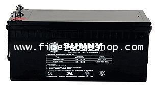 แบตเตอรี่แห้งชนิดตะกั่วกรดขนาด 12V-200AH ยี่ห้อ Sunny