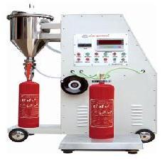 เครื่องเติมถังดับเพลิงชนิดผงเคมีแห้งแบบอัตโนมัติ รุ่น GFM8-2