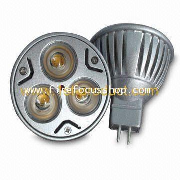 อะไหล่หลอด  Dicroic Power LED ขนาด 12V-3W รุ่น MR16 ยี่ห้อ Sunny